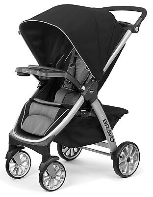 Chicco Bravo Air One Hand Quick Fold Baby Single Stroller Q Collection NEW 2018
