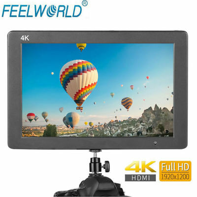 "Feelworld T7 7"" HD IPS 4K 1920x1200 HDMI Camera Monitor w/ Mini HDMI Cable EB"