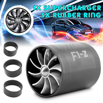TURBO FILTRE A AIR TURBINE DOUBLE LAME PR KIT FAN AMISSION F1-Z DYNAMIQUE Noir