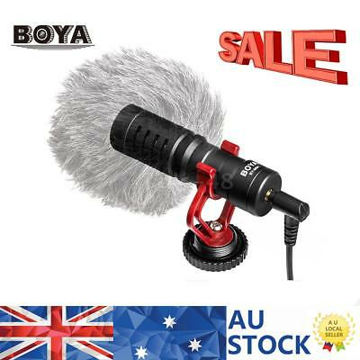 BOYA BY-MM1 3.5mm Metal Electret Condensor Video MIC for Sony Canon Nikon Camera