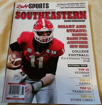 LINDY'S SPORTS SOUTHEASTERN Football 2018 Preview SEC College Football  Magazine