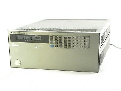 Agilent HP Keysight  6050A Electronic Load Mainframe