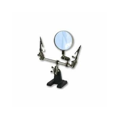 Third Hand Magnifier Model Making Jewellery Clamp Vice