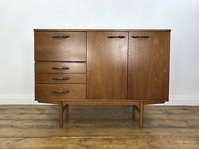 Stunning Mid Century Sideboard - Retro Vintage Drinks Cabinet Cupboard Drawers