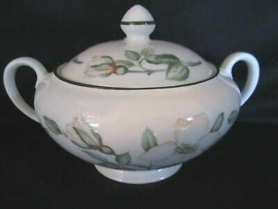 Johnson Brothers - JULIETTE GREEN - Covered Sugar Bowl - BRAND NEW
