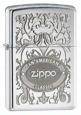Zippo 24751, An American Classic, High Polish Chrome Lighter, Pipe Insert (PL)