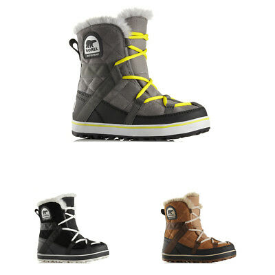 Womens Sorel Glacy Explorer Shortie Waterproof Snow Hiking Winter Boots US 5-11