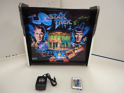 Star Trek Data East Pinball Head LED Display light box