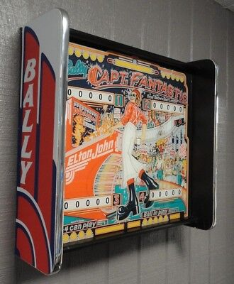 Bally Captain Fantastic Pinball Head LED Display light box