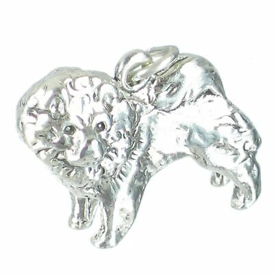 Collie Dog sterling silver charm .925 x 1 Collies Dogs charms MC296787