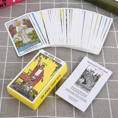 78 Pcs Full Version Tarot Cards Board Playing Party Game Cards