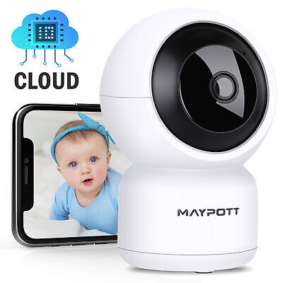Wireless Wifi Baby Temperature Monitor Detection 2 Way Audio IR Night Camera