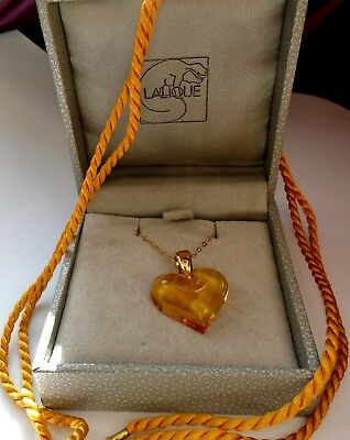 Pendant Beautiful Colour Pretty Amber With Hallmarked 9Ct Gold -Fabulous