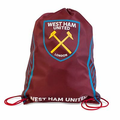 West Ham United FC Wappen Design Swerve Turnbeutel (SG10135)