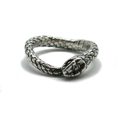 Genuine sterling silver ring Snake solid hallmarked 925 R001843 Empress