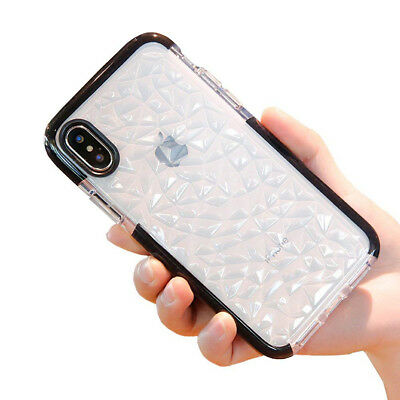 For iPhone XS Max 2018 Shockproof Clear Soft Transparent Phone Back Case Cover