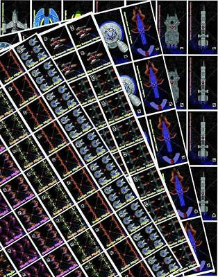 Mongoose Babylon 5 Call to Arms Sky Full of Stars - Counter Sheets Zip SW