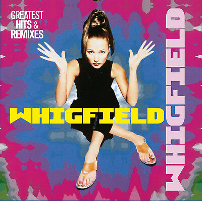 CD Whigfield Greatest Hits and Remixes 2CDs