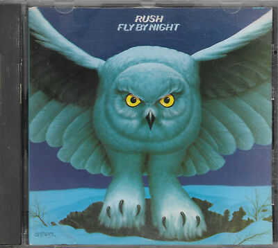 RUSH - Fly By Night - Rare 1st Anthem CD Pressing Canada - ANC-1-1002 No Barcode