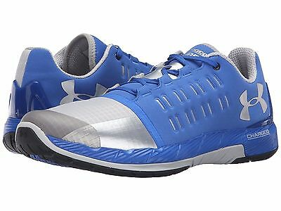 NIB Under Armour Charged Core Running Shoe Blue Gray 1276524-907 MENS Sz 9 11.5