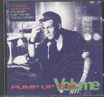 Cliff Martinez - Pump Up The Volume: Music From The Soundtrack cd acceptable