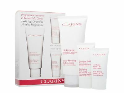 Clarins Extra-Firming Body Lotion Body Scrub Gift Set For Her