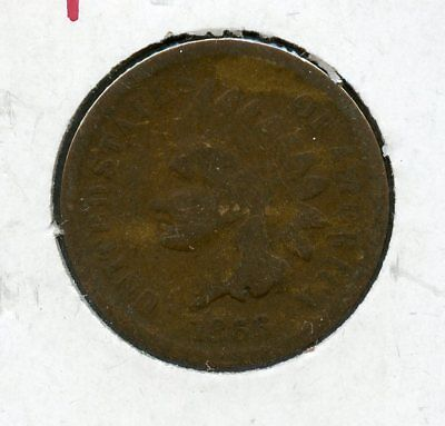 1866 Indian Head Cent Penny - CC612