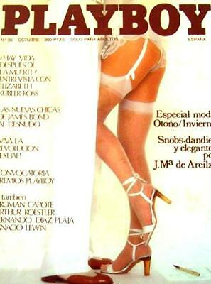 PLAYBOY 36 Spain / Lizzie Warville, Tula Cassey, Kim Mills CATHY LARMOUTH Poster