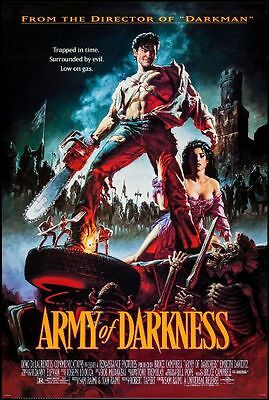 ARMY OF DARKNESS - 1993 - original 27x40 rolled Movie Poster - BRUCE CAMPBELL