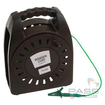 TestSafe 50M R2 Extension Wander Test Lead (PVC Cable Reel)