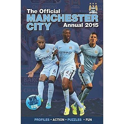 Harry Styles, Official Manchester City FC 2015 Annual (Annuals 2015), Hardcover,