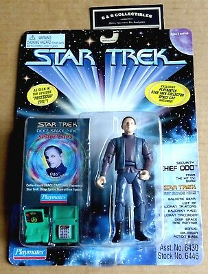 "Playmates Star Trek Deep Space Nine Space Cap  ""chief Odo""  Action Figure New"