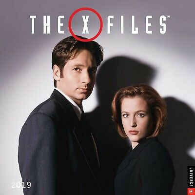 The X-Files TV Series 12 Month 2019 Photo Images Wall Calendar NEW SEALED