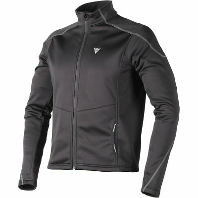 Dainese No Wind D1 Mens Base Layer Zip Top Black