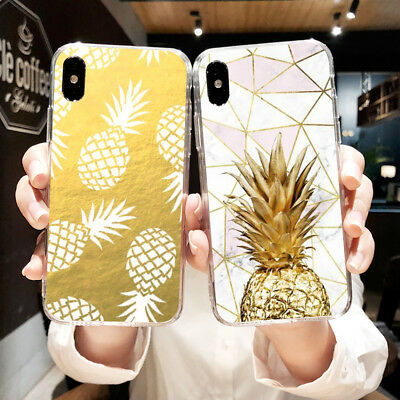 Case For Xiaomi Redmi Note 2 3 4 Soft TPU Cell Phone Back Cover Skins Pineapple