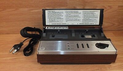 Untested Vintage Radio Shack Duofone (TAD-311/43-390 A) Answering System READ
