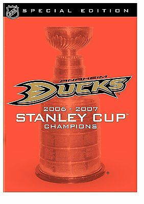 NHL Stanley Cup Champions 2007 Anaheim Ducks (DVD) Brand New sealed ships FAST