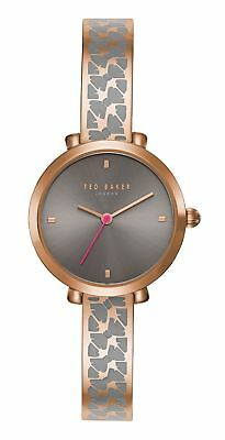 Ted Baker London Bree Grey Dial Rose Gold Tone Women's Watch TEC0103002 SD