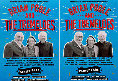Brian Poole & The Tremeloes Flyers X 3