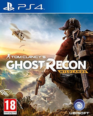 PS4-Tom Clancy`s Ghost Recon: Wildlands /PS4 (UK IMPORT) GAME NEW