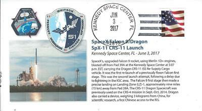 2017 SpaceX Falcon 9 Dragon CRS-11 Launch Kennedy Space Center 3 June