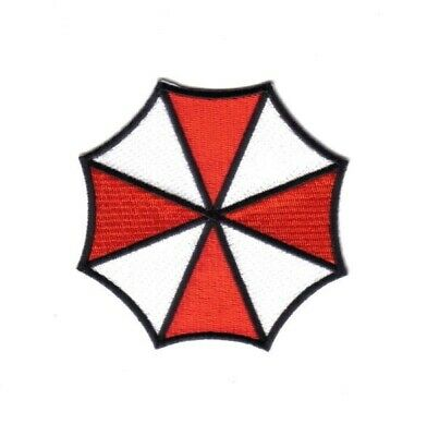 Resident Evil Umbrella Corporation Logo Large Shoulder Embroidered Patch NEW