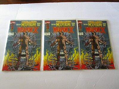 Marvel Comics Presents # 72 Weapon X In Vf+ To   Nm(-) Wolverine Origin