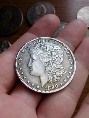 1890 Silver Morgan Dollar Coin
