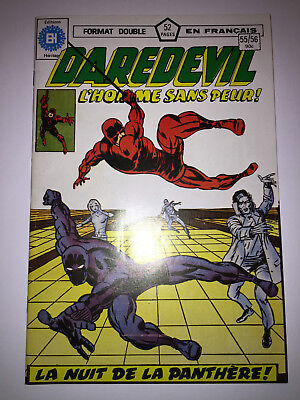 DAREDEVIL #55/56 french comic français EDITIONS HERITAGE