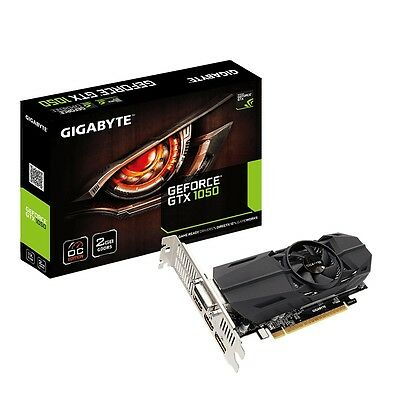 Gigabyte nVidia GeForce Low Profile GTX 1050 OC 2GB Gaming Graphics Video Card