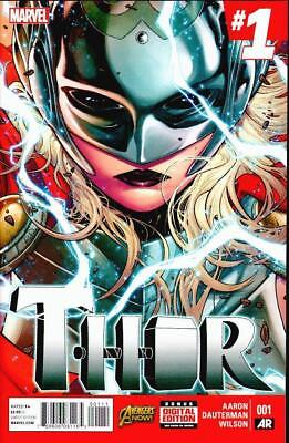 Thor #1 First 1St Print Marvel Now! New Female Thor