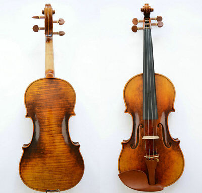 Interesting Violin Guarneri del Gesu 1743 Cannone Violin Beautiful Tone