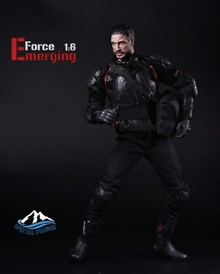 Special Figures Emerging Force Motorcycle Racing-driver 1/6 Figure