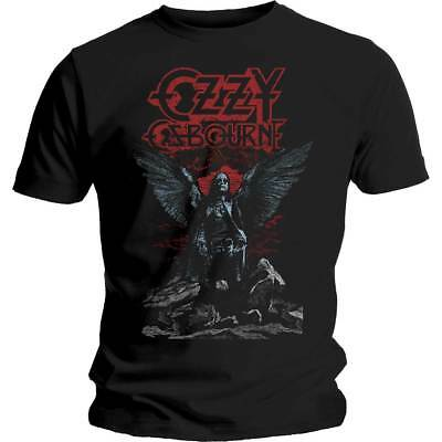 OZZY OSBOURNE Angel Wings OFFICIAL T-SHIRT All Size Blizzard Of Ozz Ultimate Sin